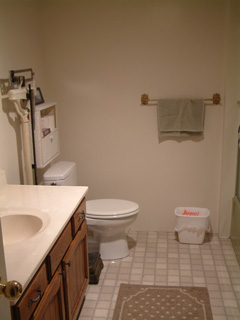 Picture of downstairs bath
